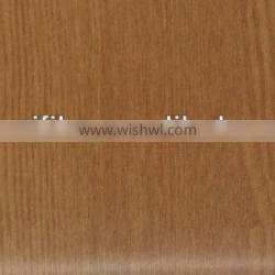 2013 hot sale woodgrain to decorate with paper contact pvc