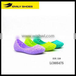 fashion new style girls casual jelly shoes