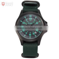 AVENGER Shark Army Auto Date Water Resistance Analog Quartz Mens Military Watch