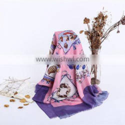 Factory Directly Digital Printing Customized Scarves