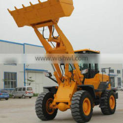 Qingdao Everun Brand 3.0Ton Construction Usage Small Wheel Loader With Luxury Cabin