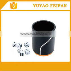 Professional Casino Poker dice cup set for games