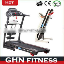 2014 new Ipad/iphone chargeable foldable GHN1400 pro fitness treadmill
