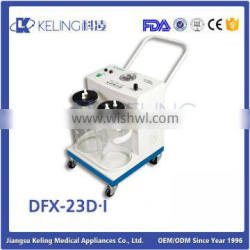2016 Chinese wholesale custom cheap price for exporting suction machine,medical suction machine