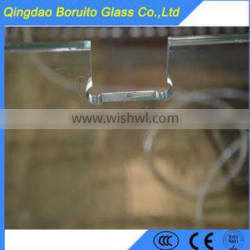 Decorative glass function and float glass type tempered glass