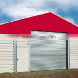 auto parts warehouse with sliding door, tent warehouse, cold storage warehouse construction