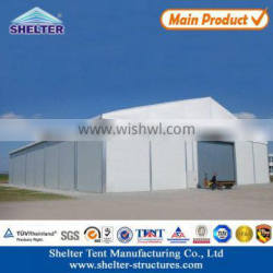 flame retardant UV-protection, rainproof big aluminum alloy temporary warehouse/storehouse workshop tent use for over 20 years