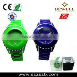 Lasted fashion silicone wristband watch,3ATM silicone watches wholesale ,alloy case,japan quartz movement