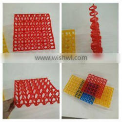 Hot selling high quality trays for chicken eggs, plastic incubator egg tray
