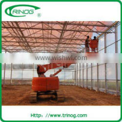 Commercial polycarbonate greenhouses for roses