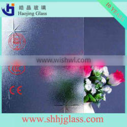 China 5mm --8mm grain clear glass with CE CCC