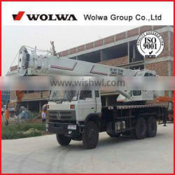 20 ton Used Truck Crane with telescopic boom 5 section for sale