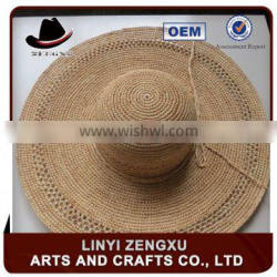 10 years experience wholesale cheap straw lady boater hats