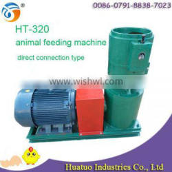 Reasonal price and high quality animal pellet feed making machine with 500-750kg/h capacity HT-320 for sale