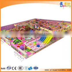 Colorful Candy theme kids indoor playground softy softy indoor playgound for sale