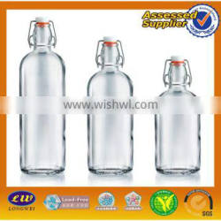 Wholesale Food Safety 350ml Glass Ketchup Bottle