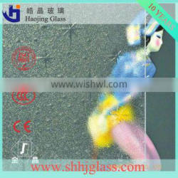 factory best woven pattern glass with CE CCC