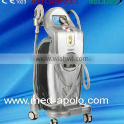 New product in china market a multifunctional skin care E-light ipl and rf quality products spa equipment by shanghai med.apolo