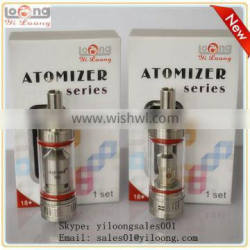 Yiloong high voltage sub ohm tank .2 ohm resistor anytank better than subtank v2 anytank for hingwong rex dry herb vaporizer