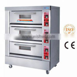 Good Price 3 Deck 6 Trays Electric Bakery Oven