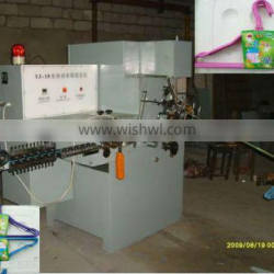 Automatic PVC Coated Wire Hanger Making Machine