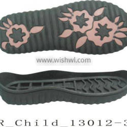 TPR Sole for Children's Casual Shoe