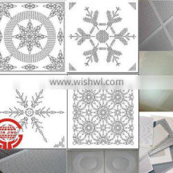 acoustic perforated ceiling board/soundproof decoration material