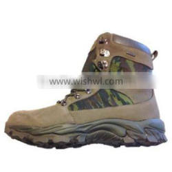 Men leather high quality military police boots