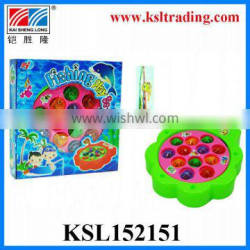 funny plastic toy fishing game for children