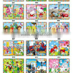 2016 best seller eco-friendly good quality coloring and sticker books
