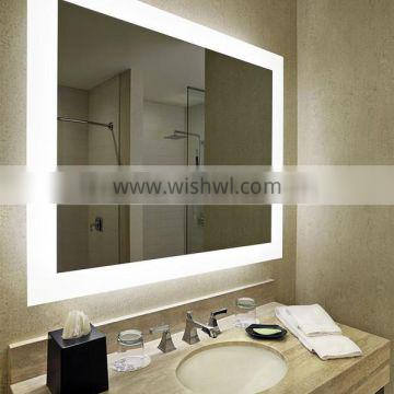 Lamxon high-end apartment bathroom mirror with four sides LED light