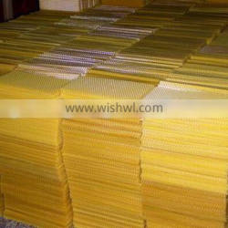 2016 Hot Sale Organic Beeswax Foundation Sheet For Bee Keeping / Pure Natural Beeswax Comb Foundation Sheet