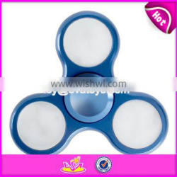 New ideas LED light fidget spinner tri-spinner hand spinner with factory price W01A270-S