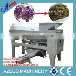 Automatic grape destemmer and crusher machine for grape wine factory