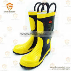 Firefighting heat radiation proof boots-Ayonsafety