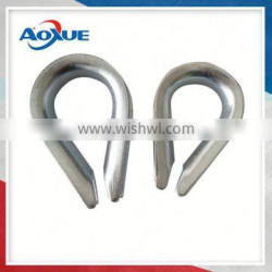Nice Quality Carbon Steel Din 6899b Wire Cable Thimble