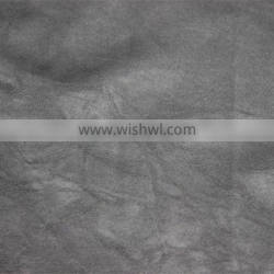 100% viscose PU leather fabric for clothing and jacket garment