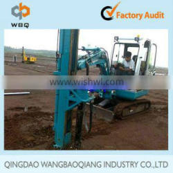 Spiral Piling Machine for Ground Screw Anchor