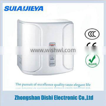 wall mounted electric hand dryer