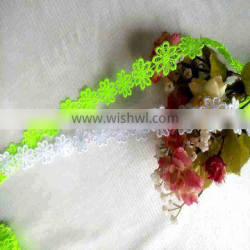 Qingdao Daifei Professional design flower water soluble chemical lace