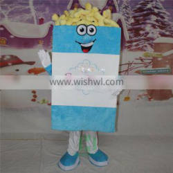 HI cutomized mascot costume for adlut size,plush mascot costume with high quality
