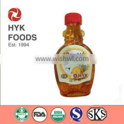 2015 New pineapple flavored honey syrup with low price but high quality, or healthy sugar free or pineapple pulp type