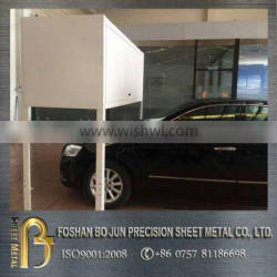 China supplier cnc machinery custom made over car bonnet storage cabinet