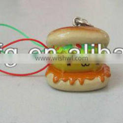 Resin strap poly carton resin doll with phone