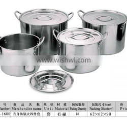 kitchen appliance large 4pcs stainless steel cookware set kitchen accessories