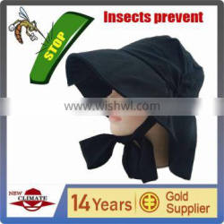 lady's fashion hat with uv cut and anti mosquito functions