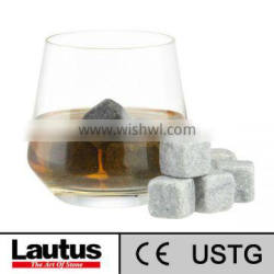 Lautus brand white color Whisky stone cubes