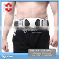 air vertical traction back brace for Treating chronic and acute back pain