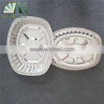 A06 microwave oven available disposable aluminum foil container for rosating pan turkey tray