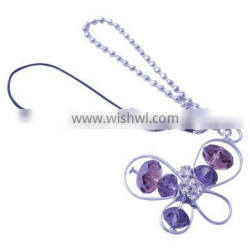 Fashion Butterfly Mobile Phone Chain